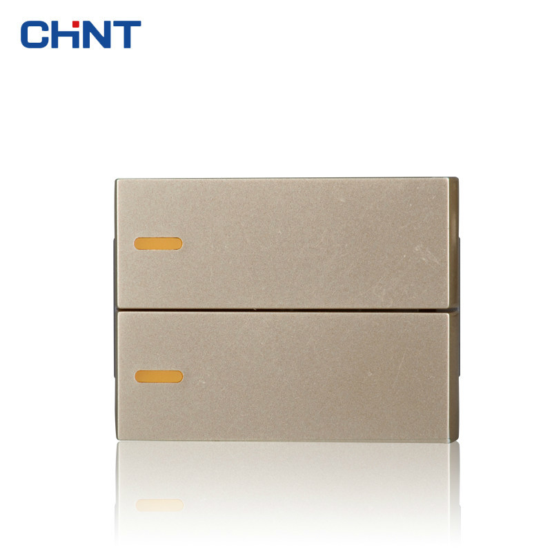 CHINT Wall Switch Socket Function Key 120 Type 9L Small Two Gang Two Way Switch Group Combine Modular 1 1 9l