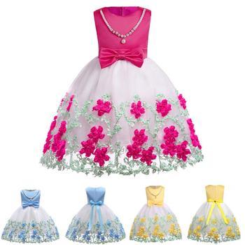 Telotuny 2018 Niños Niñas Vestidos De Verano Niño Niños Bebé