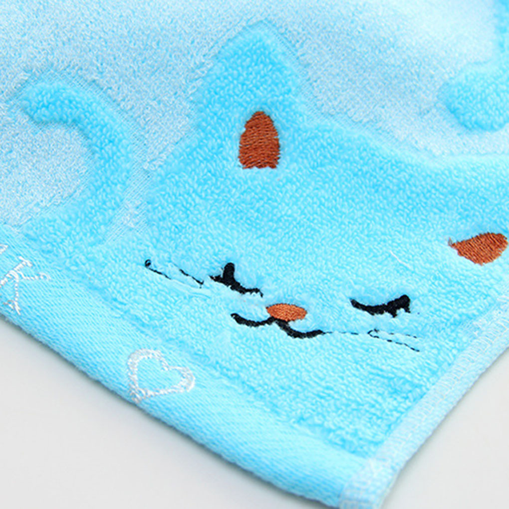 2017 Hot High quality Non-twisted Bamboo Fiber Music Cat Baby Wash ...