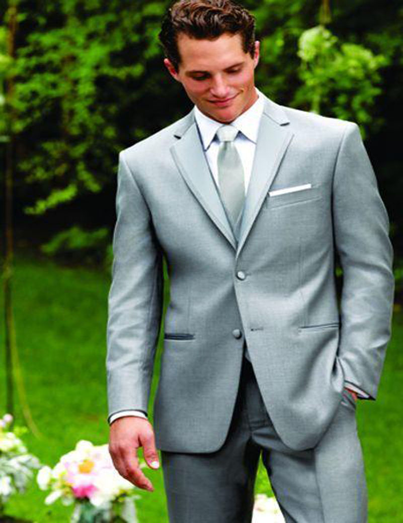 Contemporary Grey Suit Wedding Groom Frieze - All Wedding Dresses ...