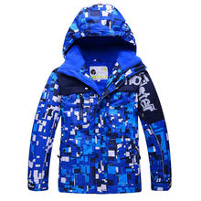 Children Snow Jacket colorful Skiing Clothiing outdoor Sports skiing snowboard Costume thermal jacket Ski pant for Gilr/Boy