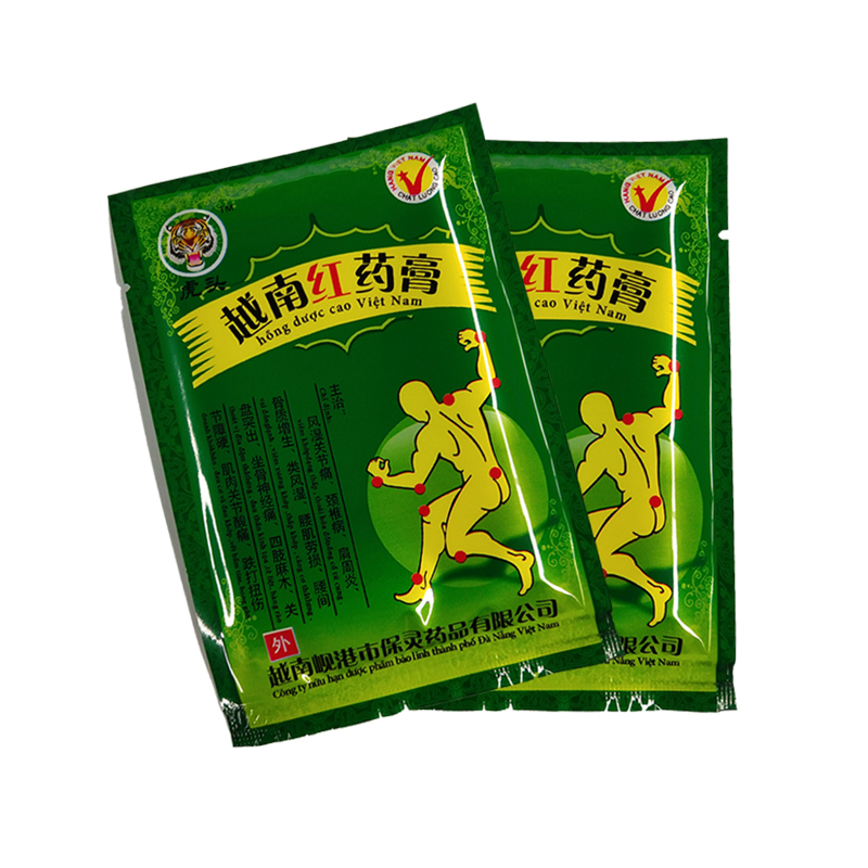 16pcs/bag Vietnam Red Tiger Balm Creams White Meridians Relief Patch Body Muscle  Relieving Pain Spondylosis