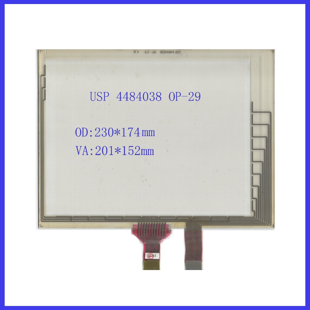 NEW USP 4484038 0P-29 8.4 inch Touch Screen POST 8.4 inch resistive touch panel For industry applications