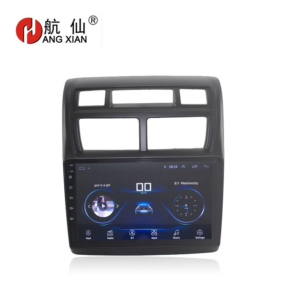 Повесить XIAN 9 четырехъядерный Android 8,1 автомобильный Радио для KIA Sportage 2016-2007 автомобильный dvd-плеер gps навигация автомобильный мультимедийный