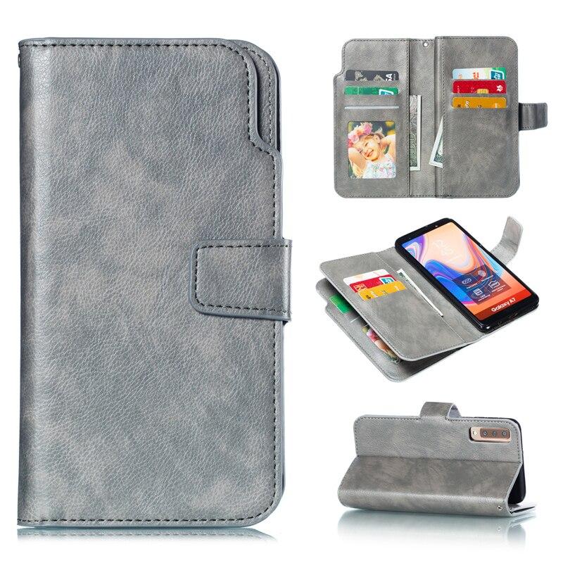 Wallet A90 A80 A70 A60 A50 S A40 A30 A20 E Flip Cover Leather Case For Samsung Galaxy A5 A7 2017 A6 A8 Plus 2018 Phone Coque Bag