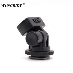 "Image 3 - WINGRIDY Profession 1/4"" Screw Hot Shoe Mount Adapter Adjustable Angle Pole For DSLR Camera Canon Nikon Flash LED Light Monitor"