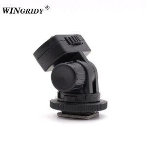 """Image 3 - Винтовое крепление WINGRIDY Professional 1/4 """", адаптер для горячего башмака, регулируемый угол для DSLR камеры, Canon, Nikon, светодиодный светильник, монитор"""