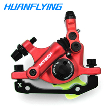 цена на ZOOM Bicycle Oil Disc Brake Mtb Bicycle Road Bike Brake  Line Pulling Hydraulic Disc Brake Sets Front & Rear Brake System