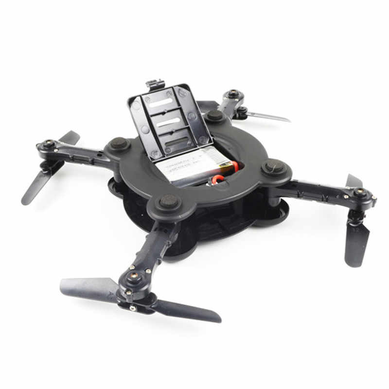 Hot Sale Eachine E55 Mini Wi-fi Zangão FPV Dobrável de Bolso Com Alta Hold Modo RC Quadcopter VS FQ777 FQ17w
