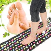 Health Care Foot Acupressure Mat Pad Massageador Walk Stone Foot Leg Pain Relieve Relief Walk Massager Mat Reflexology ZYQ7263A