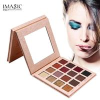IMAGIC 16 Colors Glamorous Eyeshadow Palette Matte Shimmer Glitter Eye Shadow Palette With Mirror Professional Makeup