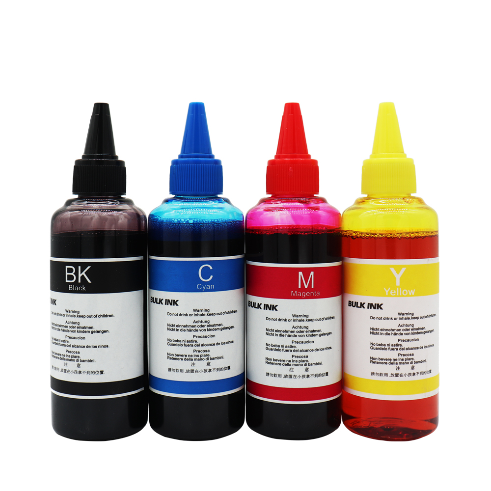 400 ml Universal Refill Dye Ink Kit Compatible for Epson for Canon for HP for Brother Printer