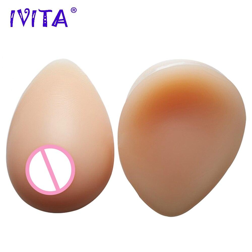 IVITA Künstliche Silikon Brust Formen Falsche Brüste Für Postoperative Crossdresser Paar Brüste Brust Spezielle Schutz Sets