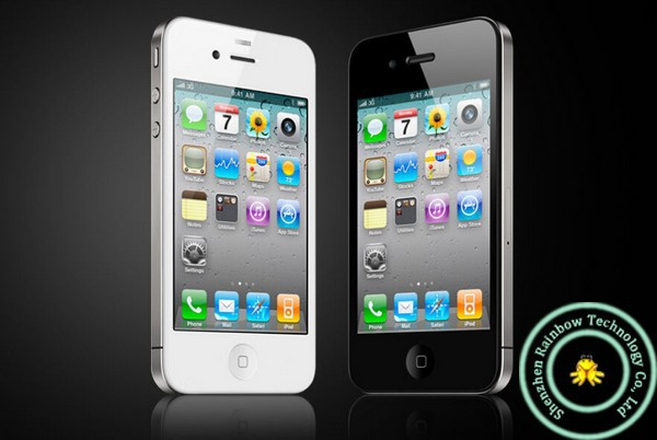 Refurbished flash iphone 4 8GB/16GB+512MB 3.5 inch unlocked   iphone4 5MP 8g mobile phone white 8g 3