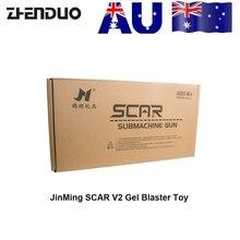 ZhenDuo Toys Jinming Scar V2 Gun Toy Gel Ball Blaster Water Bullet For Children Outdoor Play Sports