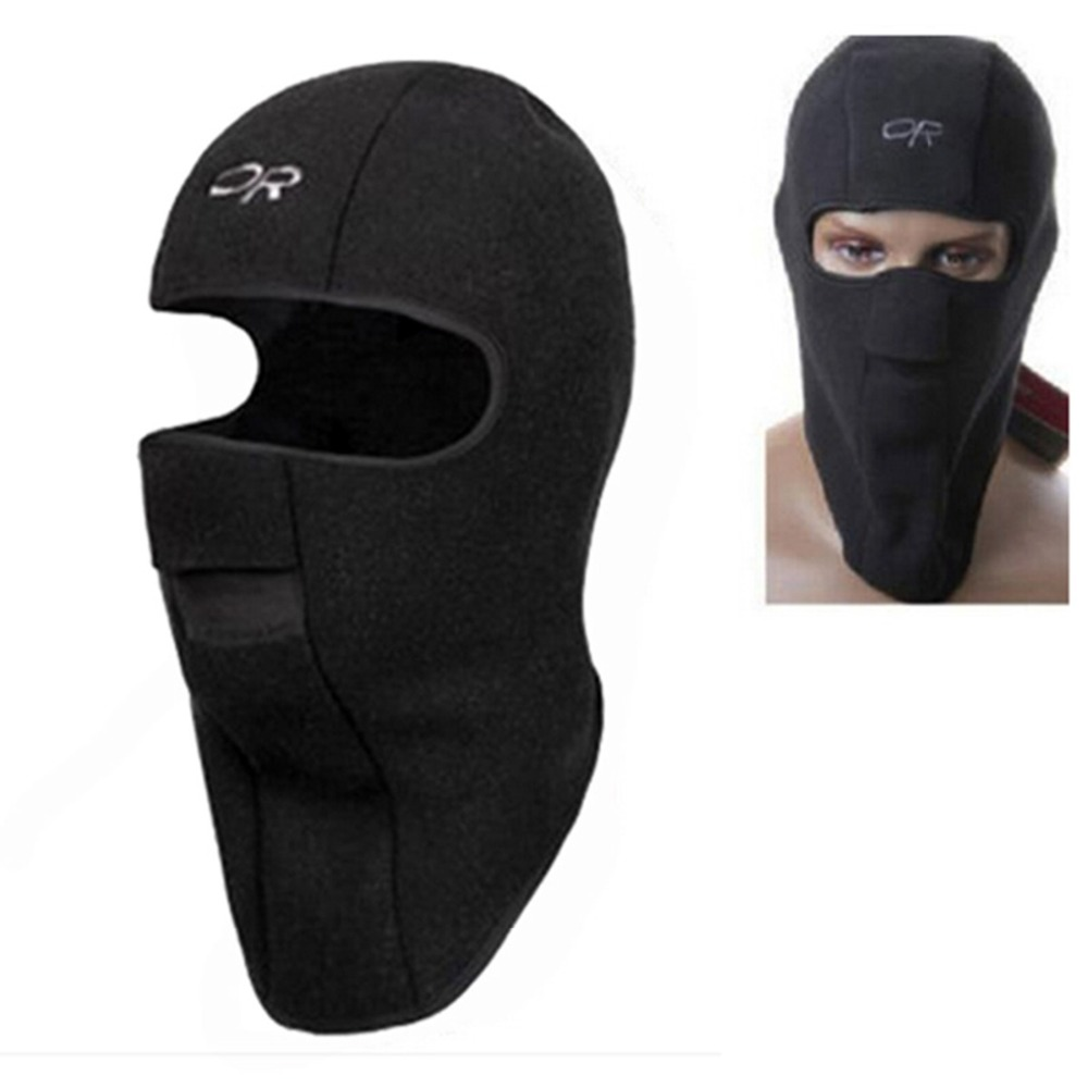 Thermische Fleece Balaclava Hut Kapuze Ski Bike Wind Stopper Gesichtsmaske New Caps Halswärmer Winter Fleece Motorrad Neck Helm Cap