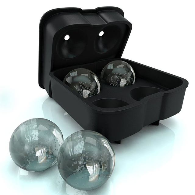 Spherical Ball Shaped Ice Cube Mold