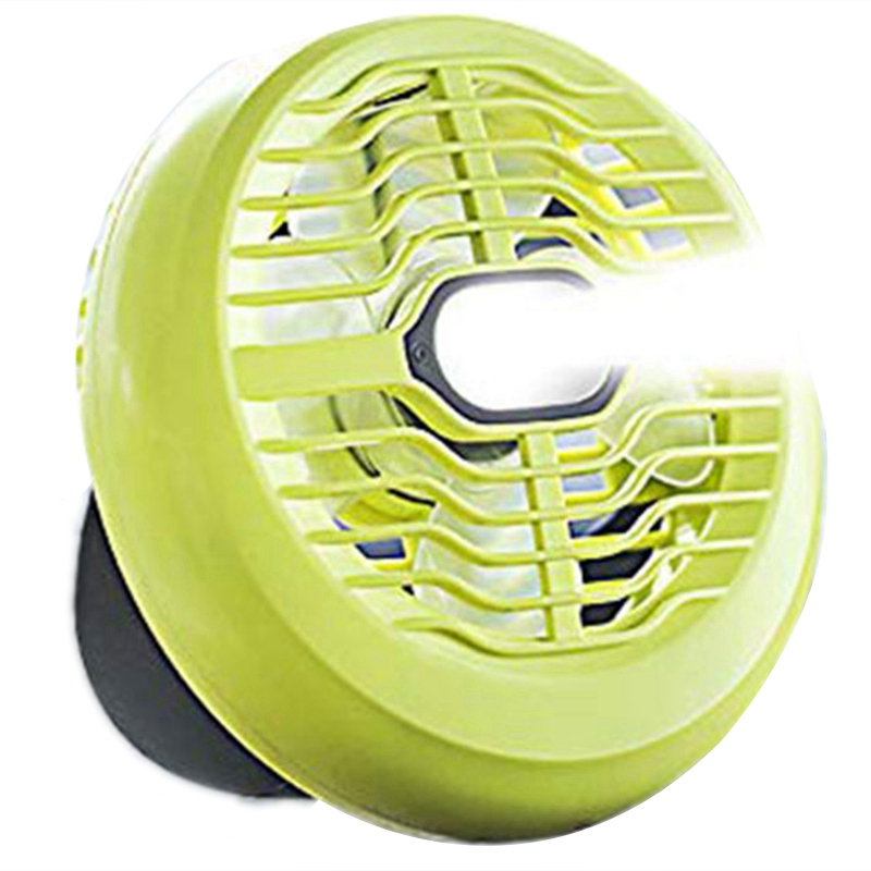 Portable 2 In 1 Camping &Fan Light Usb Rechargeable Battery Led Camping Outdoor Tent Fan With Hook Camping Travel Fan Light