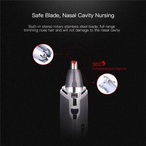 Image 3 - Триммер для носа, бритвенный станок для мужчин с аккумулятором AA