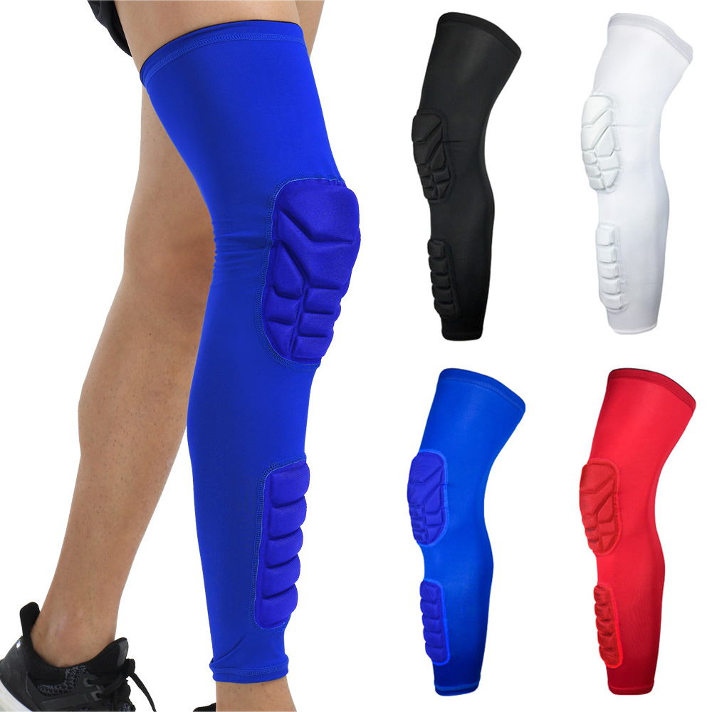 Knee Calf Anti-collision Protective Gear Sports Knee Pads Leg Long Sleeve 1PC LFSPR0053