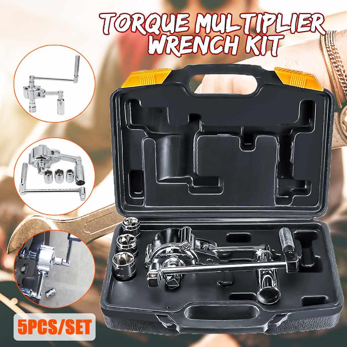 Autoleader Torque Multiplier Wrench Lug Nut Remover 1/2 Drive Socket 17 19 21mm Tire Change