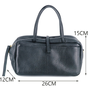 Image 5 - AETOO Simple and practical retro doctor bag cowhide shoulder light oblique cross bag portable commuter leather casual female bag