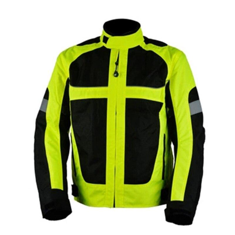 2016 new summer breathable mesh Moto Jacket men women  Motorcycle Racing jacket Reflective plus size M L XL XXL XXXL