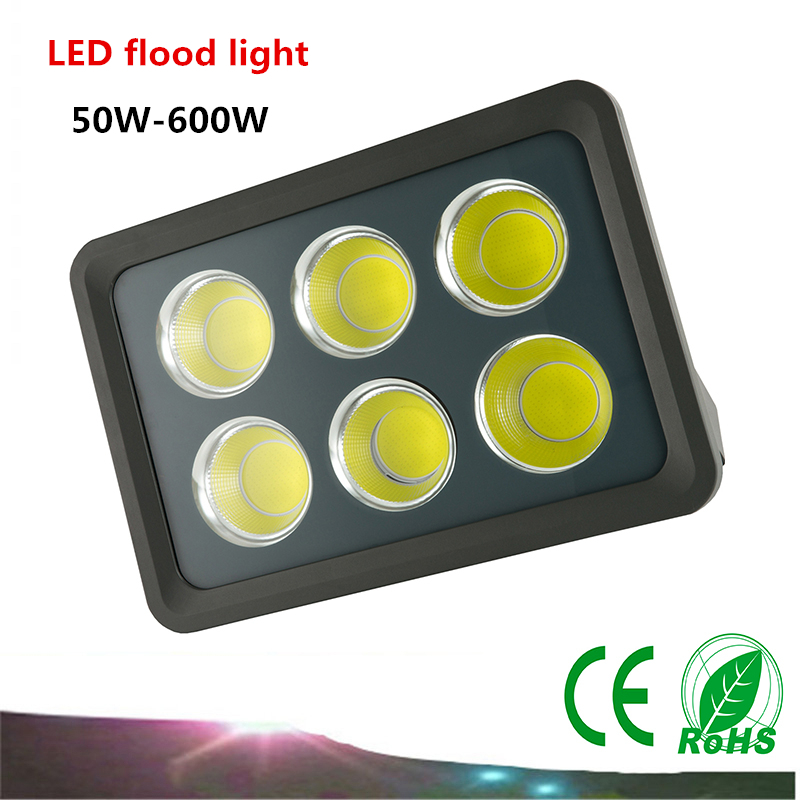 1PCS LED Flood Light AC85-265V 50W/100W COB Project-light lamp IP65 LED Waterproof Advertising Lamp Garden Square Lighting