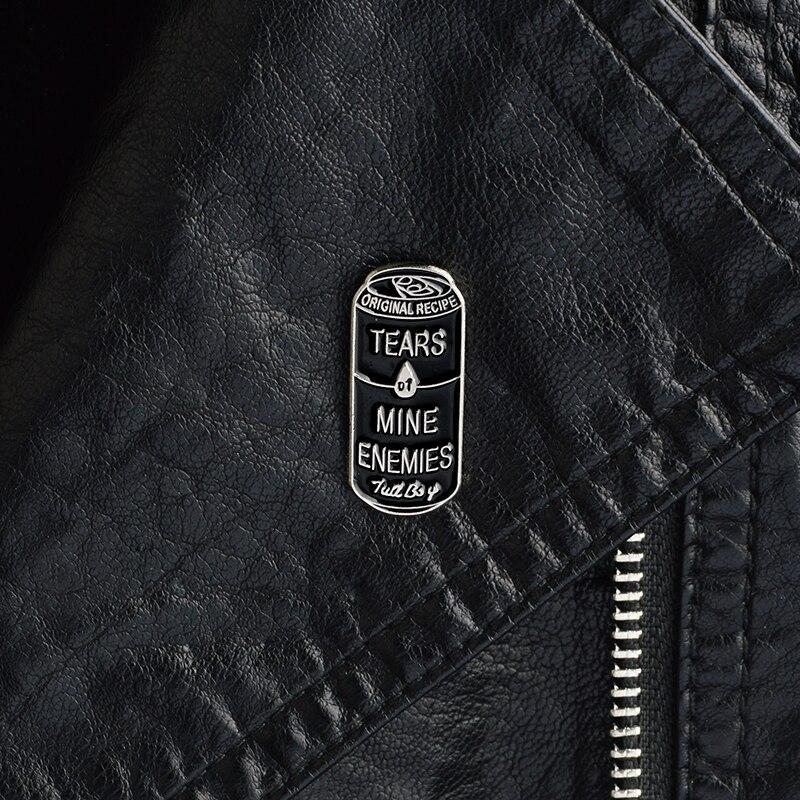 Mauvais Oeil Émail Broche Pour Femmes Hommes Déclaration Punk Style orgue Pins Bijoux