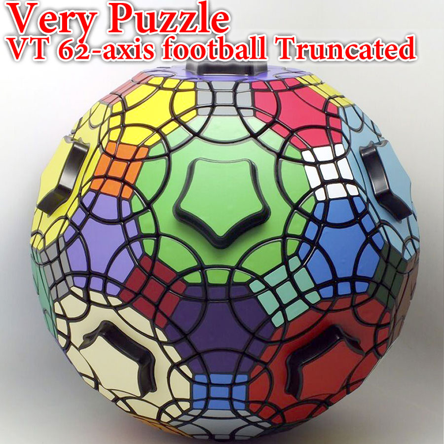Puzzle Magic Cube VeryPuzzle VT 62 axis football Truncated ball strange shape professional educational logic twist