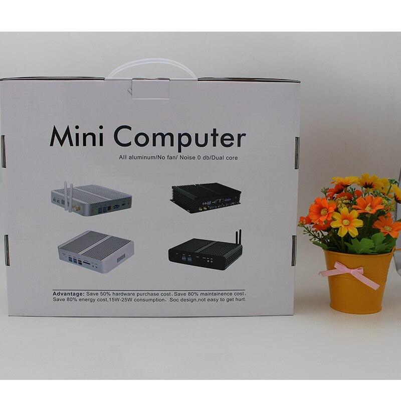 Mini PC Celeron N3050 Nuc Windows 10 Micro Barebone Computer HD 5500 Graphics 4K HTPC 300M Wifi <font><b>Bluetooth</b></font> <font><b>VGA</b></font> HDMI USB 3.0