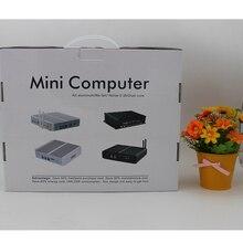 Mini PC Celeron N3050 Кну Windows 10 Микро Barebone Компьютер HD 5500 Графика 4 К HTPC 300 М Wi-Fi Bluetooth VGA HDMI USB 3.0