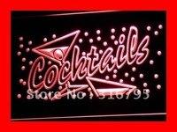 I112 открытый Коктейли Бар Паб Клуб NR светодиодные неоновые световые знаки Вкл/Выкл Переключатель 20 + цвета 5 размеров