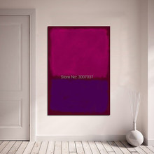 Mark Rothko Hand Painted Oil Painting on Canvas Wall Art Picture Home Decor Canvas painting Living Room Modern No Frame(China)