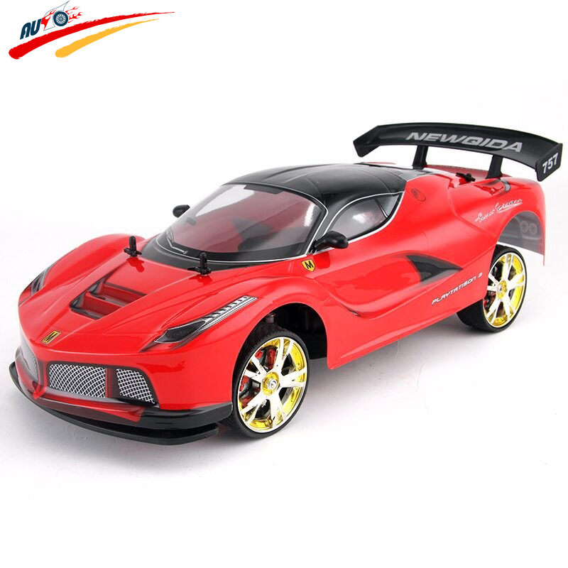Large RC Car 1:10 High Speed Racing Car For 360/LF Viper Championship 2.4G 4WD Radio Control Sport Drift Racing electronic toy large rc car 1 10 high speed racing car for mitsubishi championship 2 4g 4wd radio control sport drift racing electronic toy
