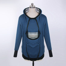 0e877e62ab64 Mother Kangaroo Hoodie Women Sweatshirt Baby Carrier Hoodies 2XL Jacket  Autumn Pet Dog Cat Big Pocket