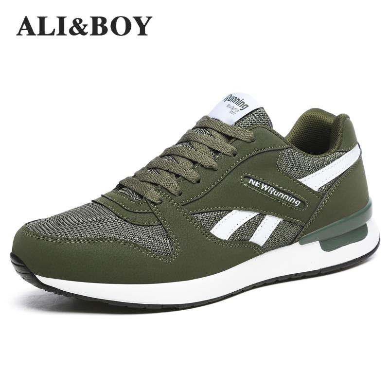 Outdoor Mens Running Shoes Athletic Trainers Breathable Anti-slippery Walking Jogging Sport Sneakers Women Sport Shoes Male