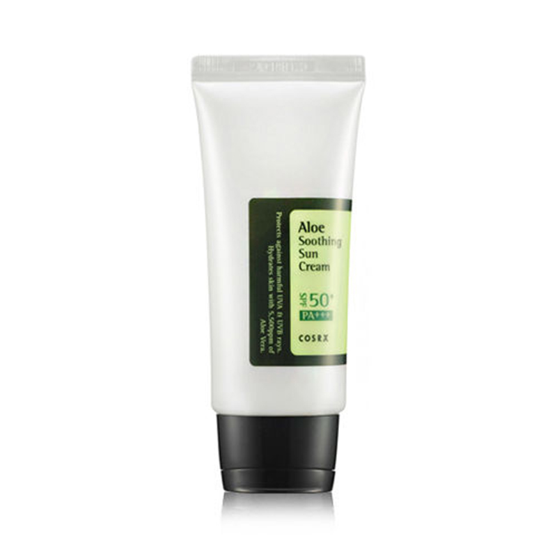 Cosrx Aloe Soothing Sun Cream SPF50 PA+++ 50ml BB Cream Mild Sun Block Sun Protection CC Cream Repairing Sun Cream