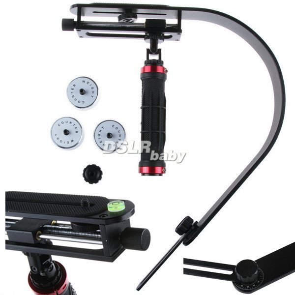Pro Micro Adjustable Handheld Stabilizer For Steadicam DSLR Camera Camcorder DVPro Micro Adjustable Handheld Stabilizer For Steadicam DSLR Camera Camcorder DV