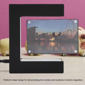 Image 4 - Elektroniczna lewitacja magnetyczna pływająca ramka na zdjęcia z oświetleniem LED nowość prezent obrazy do dekoracji mieszkania ramki
