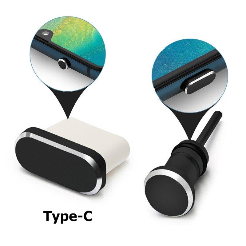 Type C téléphone Port de charge 3.5mm prise écouteur carte Sim USB C prise anti-poussière pour Samsung S10 S9 S8 Note 8 9 Huawei P10 P20 P30 Pro