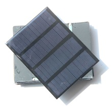 Solar panel 1 5W 12V A grade polysilicon board solar panel solar board 115x85mm colour black