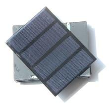 Solar panel 1.5W 12V A grade polysilicon board solar panel solar board 115x85mm colour black
