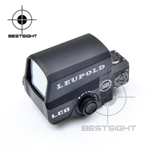 Holographique Vue Leupold LCO Tactique Red Dot Sight Leupold Portée Chasse Scopes Sight Reflex Avec 20mm Rail Mount