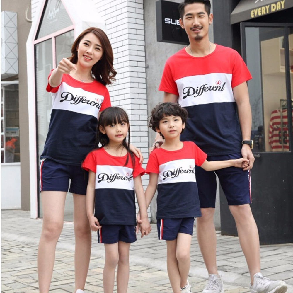 2017 Family Matching Outfits Brother Sister Clothes Casual Family t shirt  Summer Short Sleeve Boys Girls - Online Get Cheap Clothes For Sisters -Aliexpress.com Alibaba Group