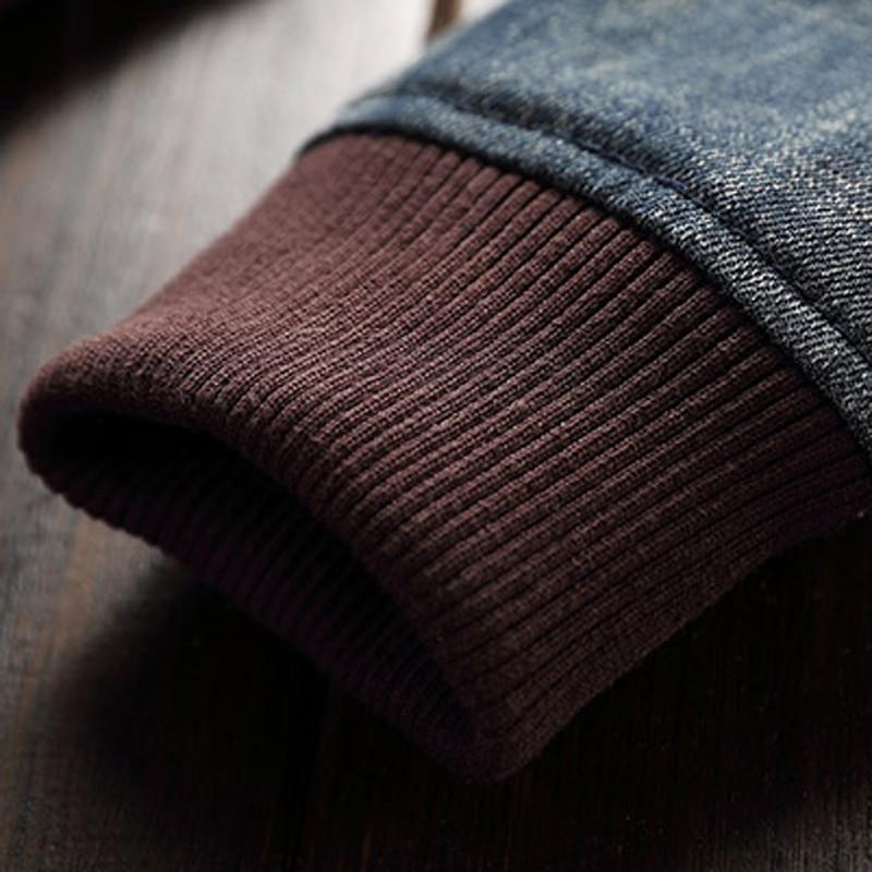 2019 Homens Homem Jaquetas Jeans Patch Designs Estilo Europeu e Americano Slim Fit calças de Brim Dos Homens de Moda Jaqueta Casaco Streetwear A221 - 5