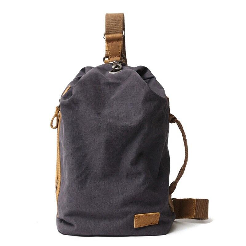 M288 nouveau Portable toile hommes poitrine Pack sac à bandoulière sac à dos voyage décontracté sac à bandoulière petit sac à bandoulière hommes épaule sac à dos