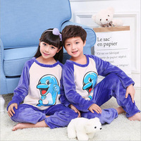Children Pajamas For Girls Kids Winter Clothes Suits Children Christmas Pajamas For A Boy Baby Cartoon