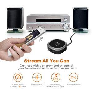 Image 5 - VIKEFON receptor y transmisor de Audio con Bluetooth 5,0, conector Jack de 3,5mm, AUX, Audio CSR8675, APTX LL HD, llamada con manos libres, adaptador inalámbrico con micrófono de Clip