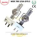 Litewinsune 2 шт. Бесплатная доставка Новинка MSR 700 SA GY9.5 Базовая лампа лампочка источника для сценического освещения